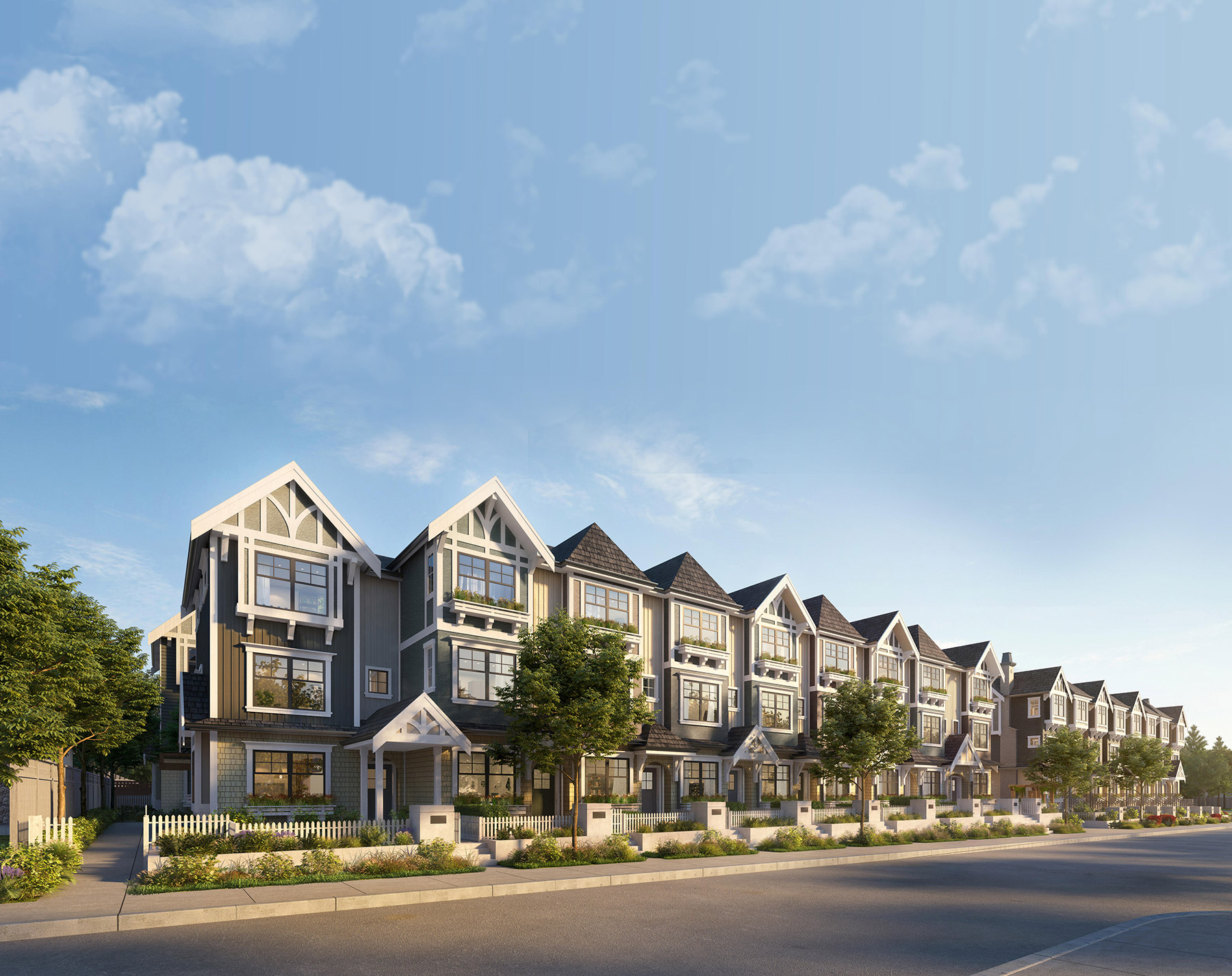 The Robinsons - Burquitlam Townhomes
